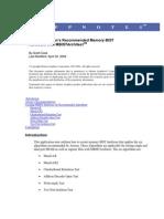 Artisan MBIST App Note