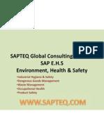 SAP EHS