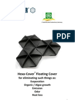 Hexa-Cover(R) Floating Cover Brochure Water Industry