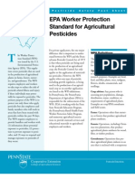 EPA Worker Protection Standard for Agricultural Pesticides