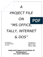 Project on Ms Office03