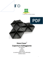 Hexa-Cover(R) Copertura Galleggiante Agricoltura