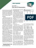 Return Loss and S-Parameters_0901076