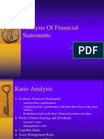 Ch 3 Analysis of Financial Statements