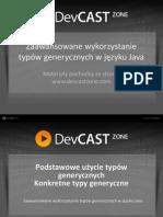 Zaawansowane wykorzystanie typów generycznych w języku Java