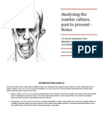 Zombie Culture Time Machine Symposium Notes