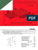 Catalog Seria TDAxxxx