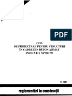 Cod Proiect Struct Cadre Ba NP 007-97
