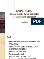 Modul Sistem Belajar Jarak Jauh (SBJJ)