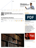 The Disappearing Virtual Library - Opinion - Al Jazeera English
