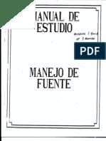 Manejo de Fuentes 1 a 60