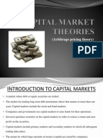 Capital Market Theories