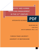 Scientific Management and Human Relation-Nguyen Ngoc Mai