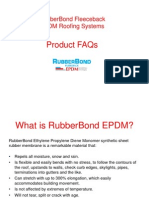 RubberBond FleeceBack EPDM FAQs