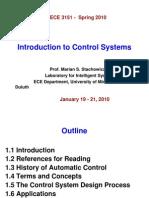 Control System Presentation