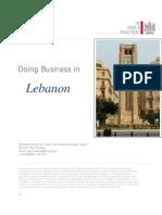 Líbano - UKTRADE - Doing Business in Lebanon