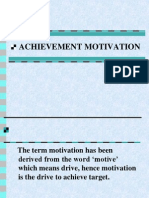 Achievement Motivation