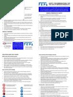 Safety Leaflet en Jan05