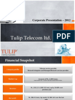Corporate PPT 2012
