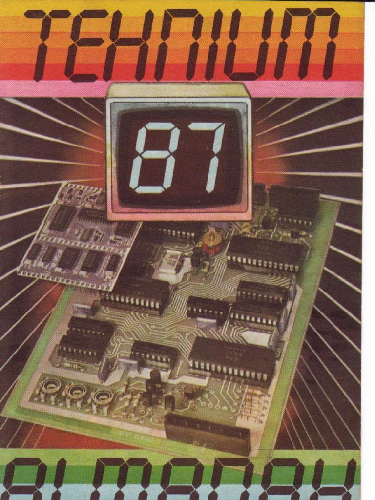 Almanah Tehnium 1987 Battery Holder 45v 3aa 6sc B3
