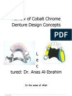 Review of Cobalt Chrome Denture Design 97-2003