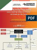 Infra 2009 - Apresentação José Roberto - Cadeia de Petróleo e Gás