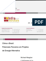Infra 2009 - Apresentação Michael Meagher - China e Brasil