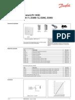 Senzori de temperatura -ESMT, ESM, ESMB, ESMC, ESMU