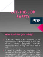 Off the Job Safety
