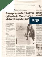 Aura presenta su disco en el Auditorio de Puertollano