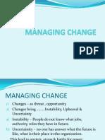 Bs II Change Management