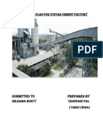Business Plan for Utstar Cement Factory