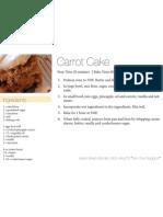 Carrot Cake 4x6