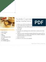 Nutella Cupcakes 3x5