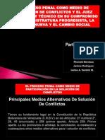 EL PROCESO PENAL COMO MEDIO DE RESOLUCIÓN DE CONFLICTOS