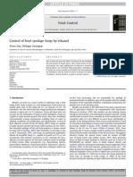 Control of Food Spoilage Fungi by Ethanol