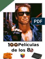 100 Peliculas de los 80. Portada y Contenido
