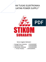 Laporan Tugas Elektronika(Power Supply)