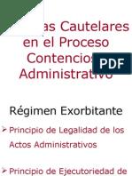 Medidas Cautelares en El Proceso Contencioso Administrativo