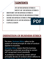 Business Ethics - Vivek