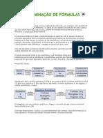 DETERMINAÇÃO DE FÓRMULA1