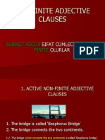 Non-finite Adjective Clauses
