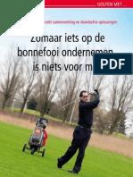 Golfen met Marcel Wesseling (in