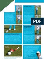 Golfinstructies door Michael John de Moor (in