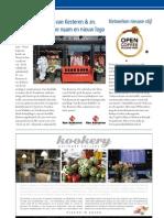 Stand Van Zaken met Schildersbedrijf N. van Kesteren & zn. , Open Coffee Bollenstreek / Advertentie Melman (in
