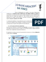 Manual Bancarizacion Da Vinci