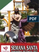 Revista Semana Santa Santisteban 2012 Cartel e Interior