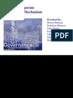 Internal Corporate Governnance Mechanism