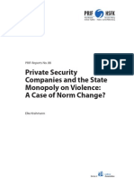 PRIF Prvt Security and the State Monopoly on Violence