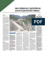 Concesiones Mineras y Petroleras y el Proyecto Olmos
